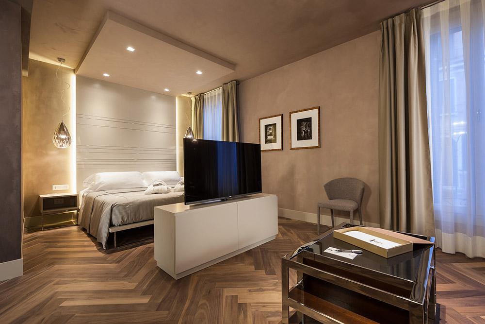 Baño Turco Dimensiones:Una suite de amplias dimensiones, 45 m2 en cálidas tonalidades
